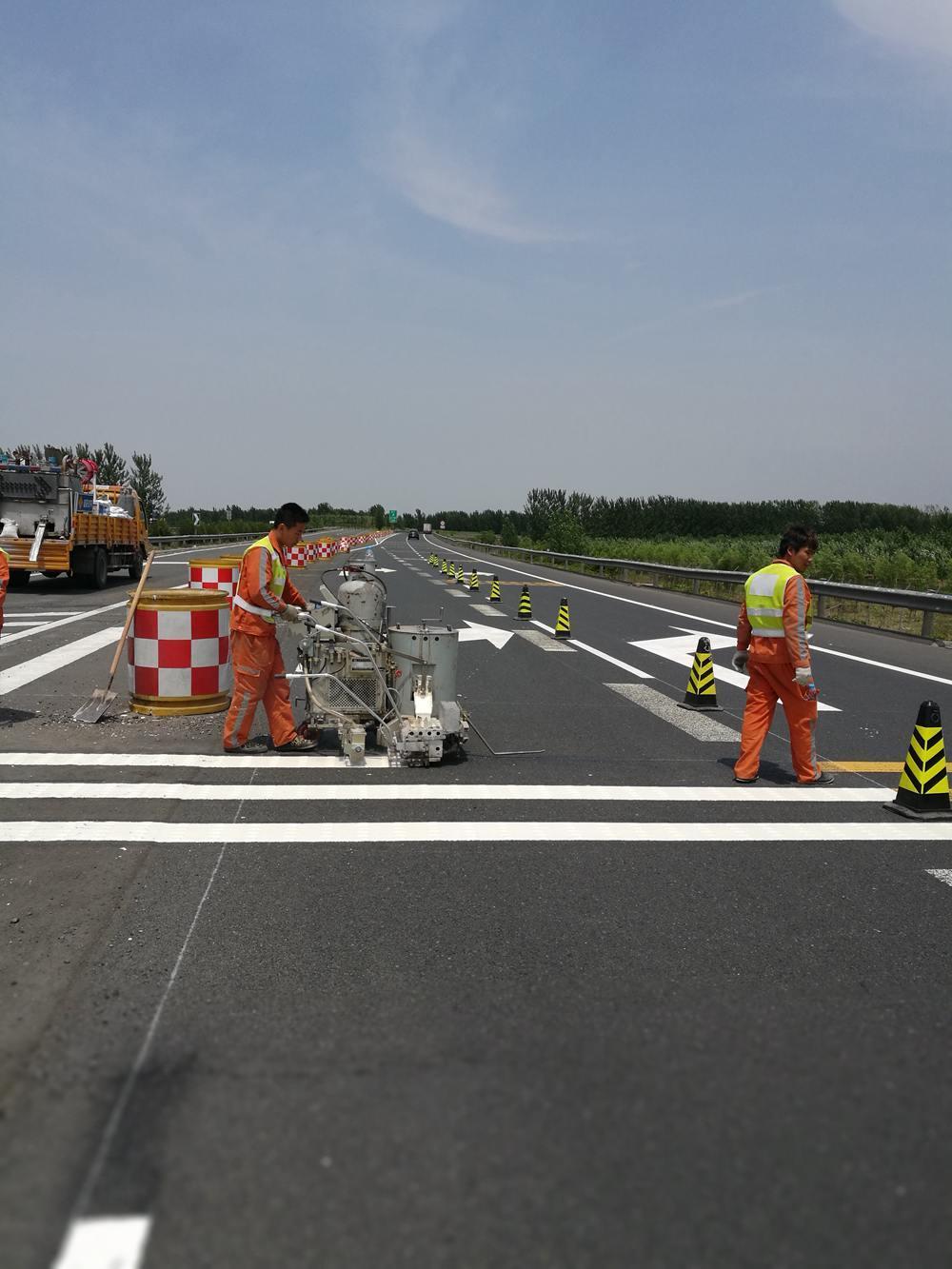 京津高速標線 (5)